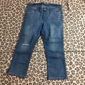 GAP Crop Kick Jeans, 12